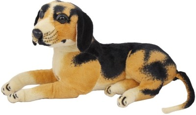 VRV Dog Stuffed Animal  - 10 inch(Brown)