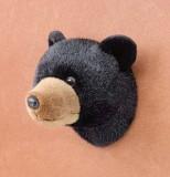 Stuffed Animal House 75 Black Bear Head ...