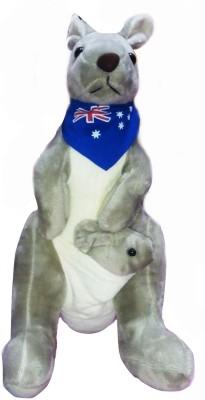 Cuddles Kangaroo With Baby  - 26 cm