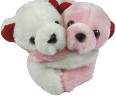 Tickles Hugging Pair Teddy  - 4.5 inch