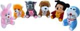 DIZIONARIO Soft Toy Cartoons Character 6...