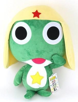 Furyu Sgt. Frog- Keroro Gunso 18 Inch Plush Toy- SGT Frog Sgt Keroro  - 20 inch