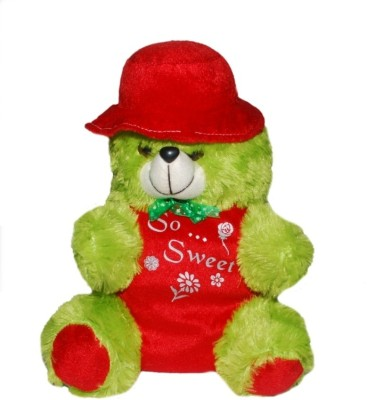 Shop & Shoppee Teddy With Dress And A Cute Cap
