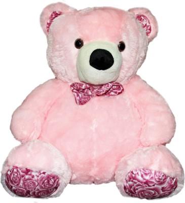 Soft Buddies Chubby Bear Medium-Light Pink  - 15 inch