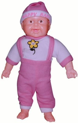 Tiny Tickle Laughing Baby With Sound Premimum soft toy for kids  - 36 cm
