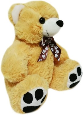 Soft Buddies Z Bear Medium - Beige  - 14 inch