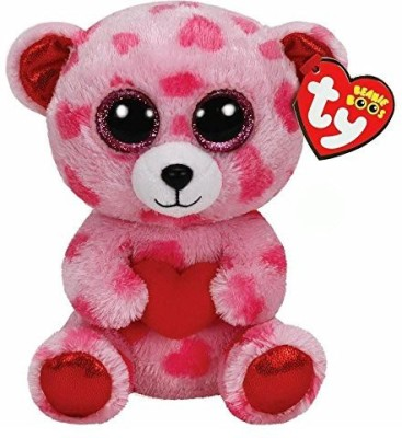 TY Beanie Babies Sweetikins Bear With Heart