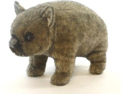 Hansa 3248 18 Wombat Poseable Plush(Brown)