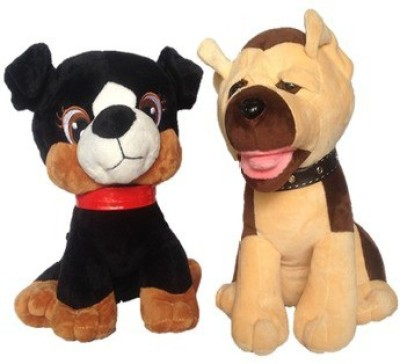 Chinmayi Adorable High Quality Cat And Dog Combo  - 30 cm