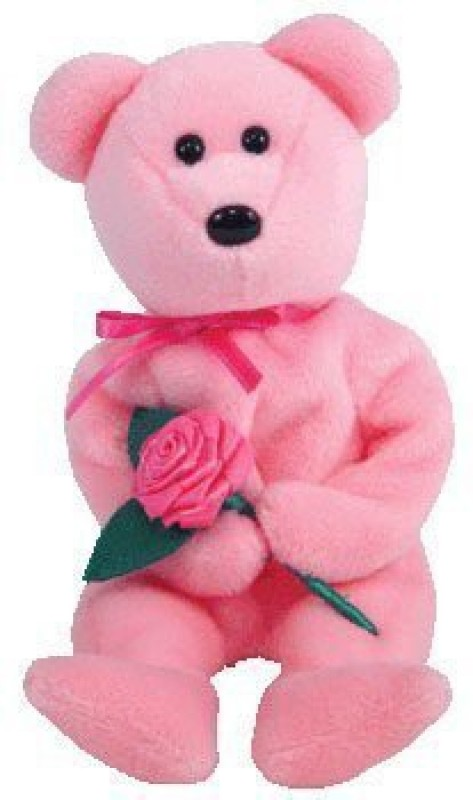 ddbc4a4d637 Ty Inc Ty Beanie Babies Mome 2005 Bear (Ty Store Exclusive)(Pink)