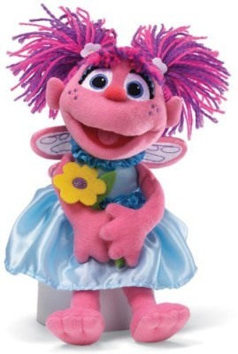 GUND Sesame Street Abby with Flowers Stuffed Animal  - 25 inch(Multicolor83)