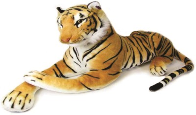Skylofts Strong Stuffed Tiger Toy  - 4 inch(Multicolor)