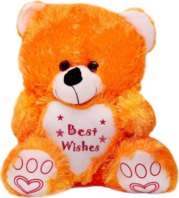 Vpra Mart Best Wishes Orange Teddy Bear  - 35 cm