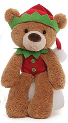Fuzzy Elf Tan Christmas Plush From Gund