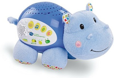 VTech Baby Lil, Critters Soothing Starlight Hippo  - 24 inch(Multicolor)