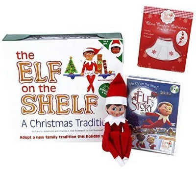 The Elf on the Shelf Elf On The Shelf Blue Eyed Girl Elf With Bonus