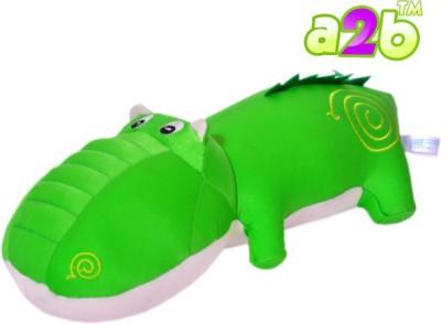 a2b green soft maggur toy  - 37 cm