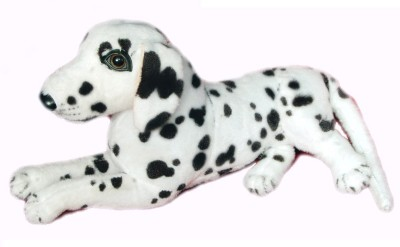VRV Soft Dalmation Dog Kids Toy  - 15 cm