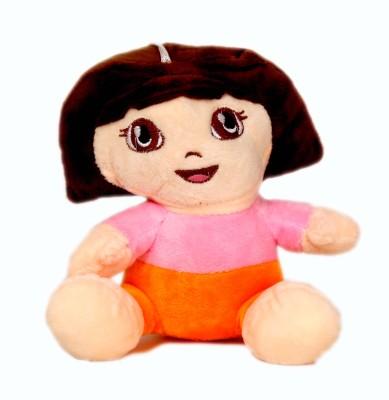 Skylofts Stuffed Dora The Explorer Soft Toy  - 20 cm(Multicolor)
