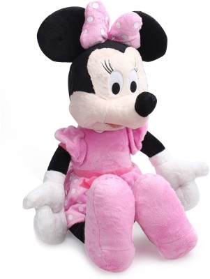 Disney Plush - Minnie Flopsies 14 inches Non Electric Soft Toy  - 10 inch
