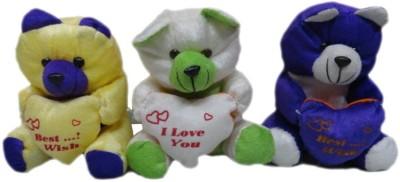 Atorakushon Pack of 3 Soft Teddy Bear - 21 cm