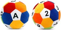 Saugat Traders Soft Ball ABCD & 1234  - 8 Inch(Multicolor)
