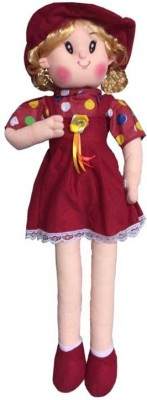 Atc Toys Candy Doll Red Soft Toys  - 70 cm