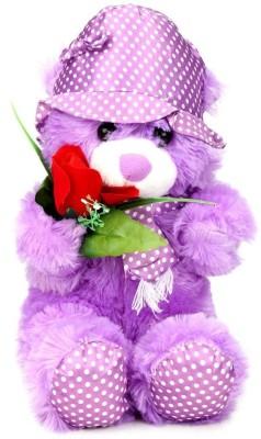 Tickles Rose Cap Teddy  - 36 cm
