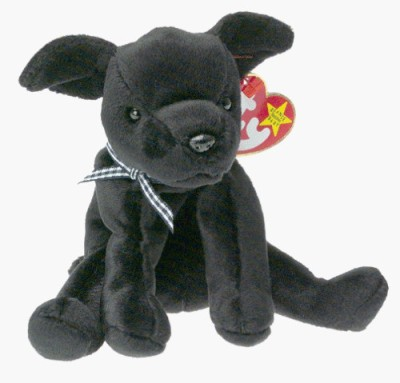 TY Beanie Babies Luke The Black Lab
