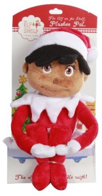 The Elf on the Shelf Girl Plushee Pal Dark