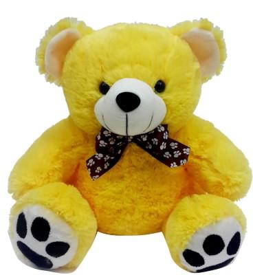 Soft Buddies Z Bear Small - Yellow  - 7.6 inch