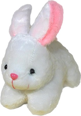 Toyland White Rabbit  - 4 inch