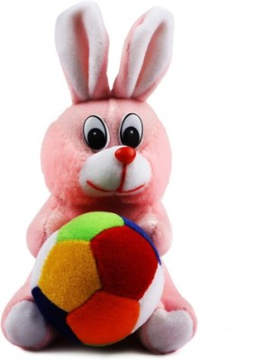 Funky Rabit With Ball  - 10 inch
