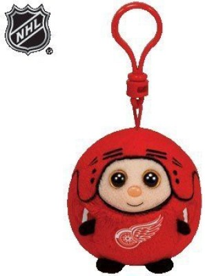 Ty Nhl Beanie Ballz Detroit Red Wings Clip(Red)
