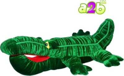 a2b Dark Green Crocodile soft Toy  - 76 cm