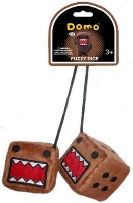 Domo Kun Fuzzy Dice Plush