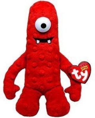 Yo Gabba Gabba Ty Plush Beanie Ba Doll Red Muno 10 In Cute Gift