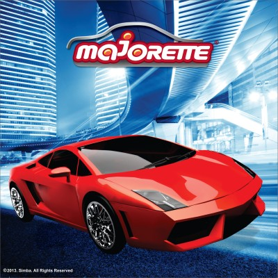 Majorette Super Racer Cushion  - 14.17 inch