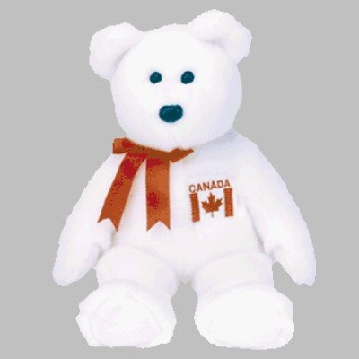 Ty, Inc. 1 X Ty Beanie Buddy Maple The Bear (Canadian Exclusive)
