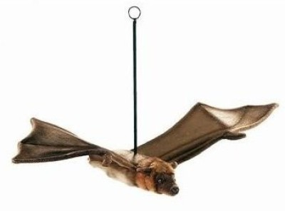 Hansa 3705 27 Flying Fox Bat Plush(Brown)