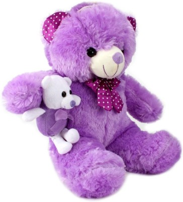 Tickles Teddy with Baby  - 17 inch