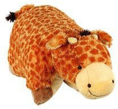 Pillow Pets 11 inch Pee Wees - Jolly Giraffe  - 25 inch