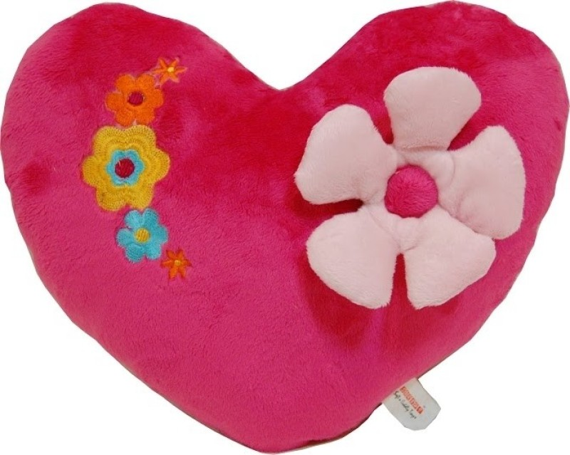 Surbhi Heart with Flower  - 13.4 inch(Pink)