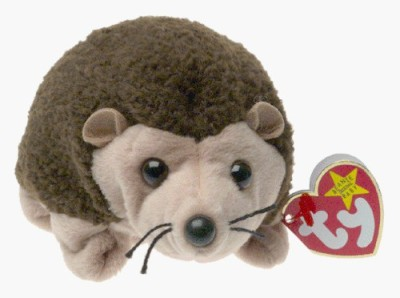 TY Beanie Babies Prickles The Hedgehog