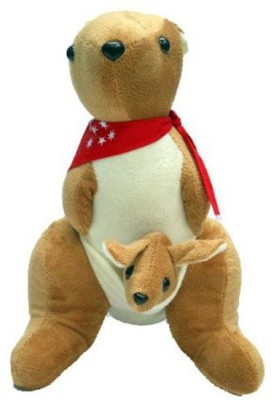Creative Kids Soft and Cuddly Kangaroo  - 32 cm