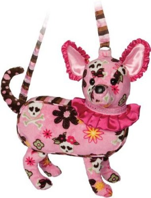 Douglas Cuddle Toys Furry Couture Jj Chihuahua Purse 11