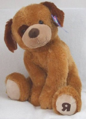 Plush Roscoe Dog Brown(Brown)