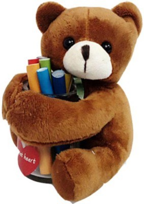 Gift-Tech Wish Bear Hugging Message Papers In a Bottle  - 14 cm