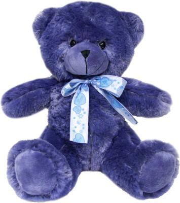 Soft Buddies Violet Bear - Navy Blue  - 10 inch