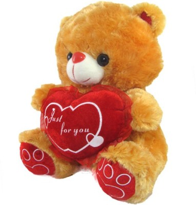 Tickles Adorable Teddy With Heart Just For You  - 28 cm